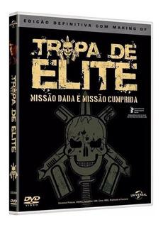 Filme Dvd Tropa De Elite: Missão Dada É Missão Cumprida Novo