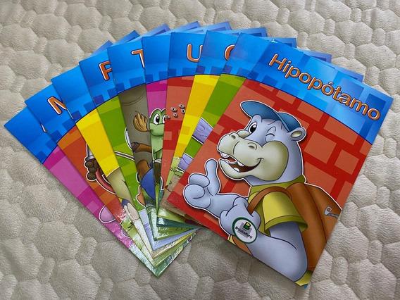 Coleção 10 Livros Infantis: Bichos Amigos - Novo