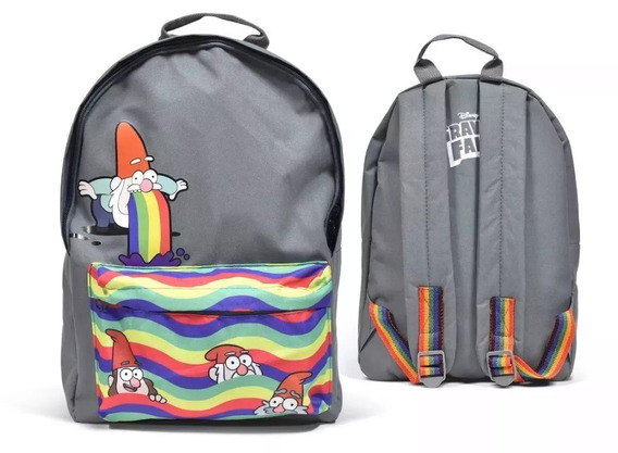 Mochila Escolar Espalda Gravity Falls 15´ Duendes Shmebulock