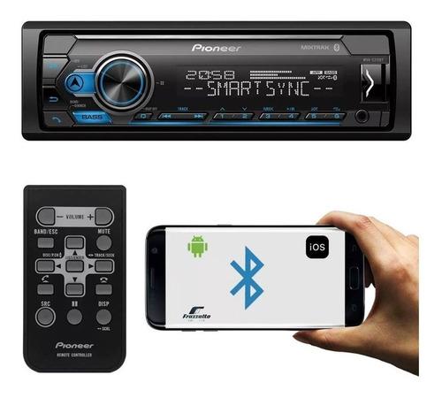 Estereo Para Auto Pioneer Mvh-s315bt Usb Aux Bluetooth