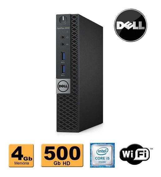 Mini Cpu Dell Optiplex 3040 Core I5 6500t 4gb 500gb Promoção
