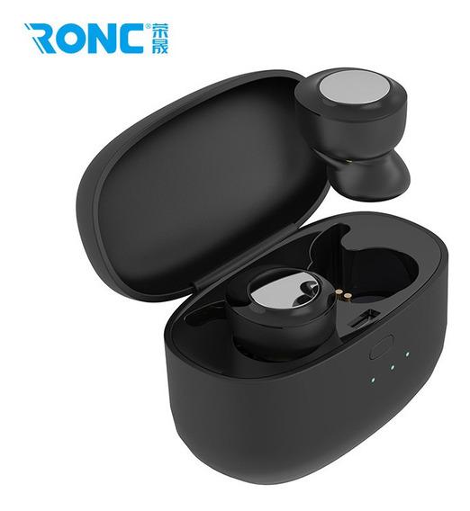 Preto Fone De Ouvido Bluetooth 5.0 Mini Fone De Ouvido Som S