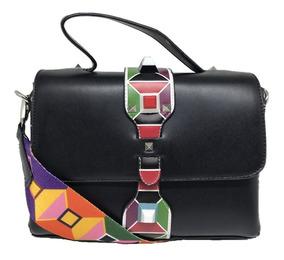Bolsa Feminina Casual Alça Colorida Importada- 8306