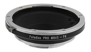 Fotodiox Pro Lens Mount Adapter, Mamiya 645 Lens To Pentax K