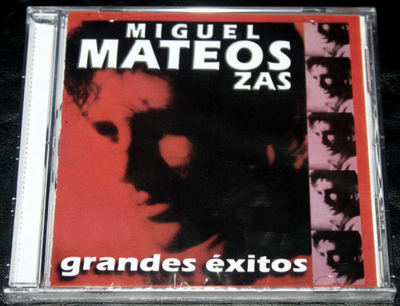 Miguel Mateos Zas Grandes Exitos Cd Nuevo Cerrado