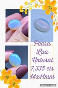 Pedra Da Lua Oval Natural 7 335 Cts 14x11 Mm