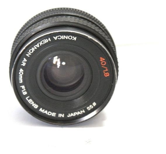 Lente Konica 40mm 1.8 Retro Coleção P/ Retirada De Peças