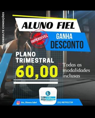 Plano Trimestral Bio Fitness Academia