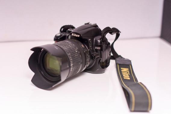 Câmera Nikon D5000 + Lente 18-105 + Manual + Bateria Extra