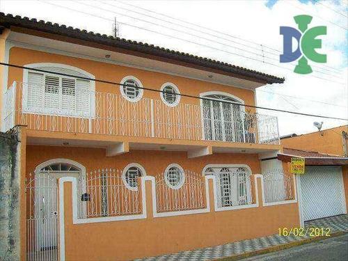 Sobrado Com 3 Dormitórios À Venda, 206 M² Por R$ 380.000 - Jardim Independência - Jacareí/sp - So0006