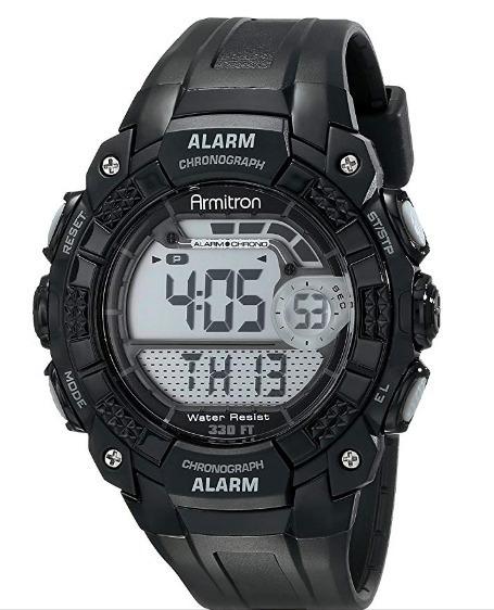 Reloj Para Hombre Armitron De Cuarzo Deportivo Black