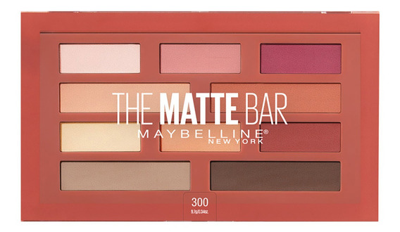 Paleta De Sombras Maybelline The Matte Bar Eyeshadow Palette