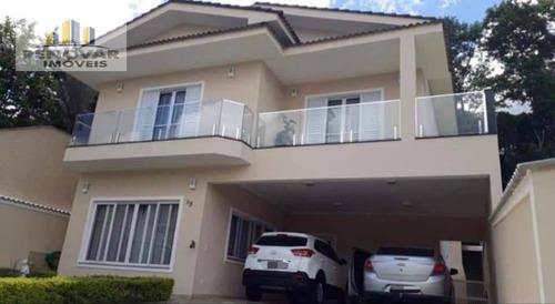 Imagem 1 de 30 de Sobrado Com 4 Dormitórios À Venda, 290 M² Por R$ 1.300.000,00 - Aruja 5 - Arujá/sp - So0036