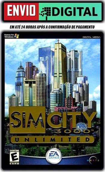 Simcity 3000 Unlimited - Em Português - Pc - Envio Digital