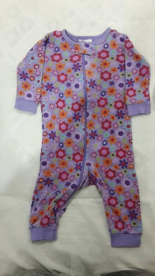 Monito Pijama Para Bebé Niña Gerber Talla 0-6 Meses