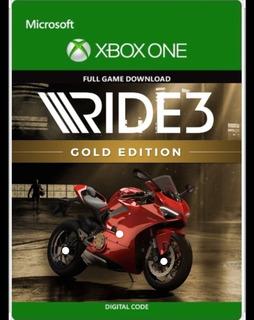 Ride 3 Gold Edición Entrega Inmediata Xbox One Modo Offline