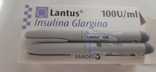 Insulina Lantus Novorapid Tiras. Con Agujas. Hago Envios