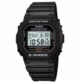 Relógio Masculino Casio G-shock Preto Dw-5600e-1vdf Original