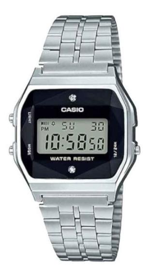 Relógio Casio Unissex Vintage A159wad 1df Digital Diamond