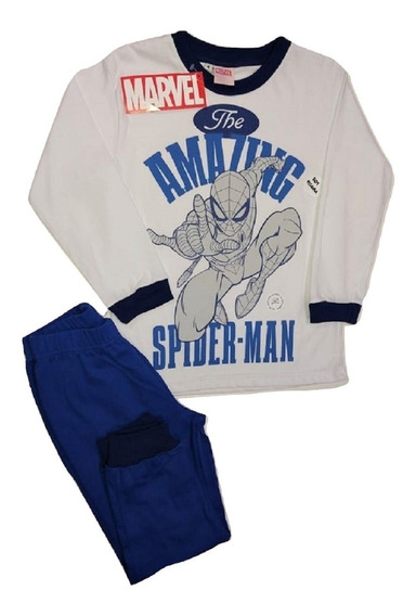 Pijamas Chicos Remera M/larga Y Pantalon Envio Gratis!!!