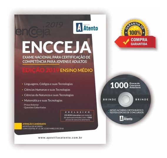 Apostila Encceja - 2019 - Ensino Médio - Editora Atento