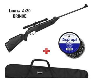 Espingarda Chumbinho Rossi Dione 5.5mm + Acessórios + Brinde