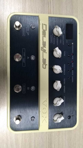 Pedal De Delay E Looper Vox Delay Lab