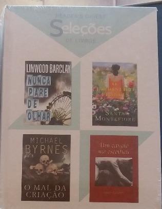 Lote 202 - 1 Livro Seleções Readers Digest (4títulos Cada)