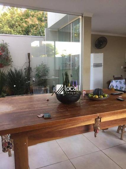 Casa Com 3 Dormitórios À Venda, 280 M² Por R$ 900.000 - Jardim Vivendas - São José Do Rio Preto/sp - Ca2053