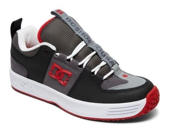 Zapatillas Dc Shoes Mod Lynx Og Gris Rojo