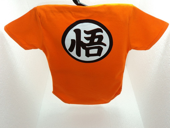 Body Super Herois Dragon Ball Goku Kame Infantil Bebê Lindo!