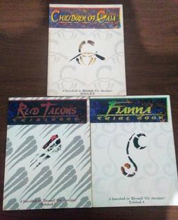 Lobisomem O Apocalipse: Fianna, Red Talons, Children Of Gaia