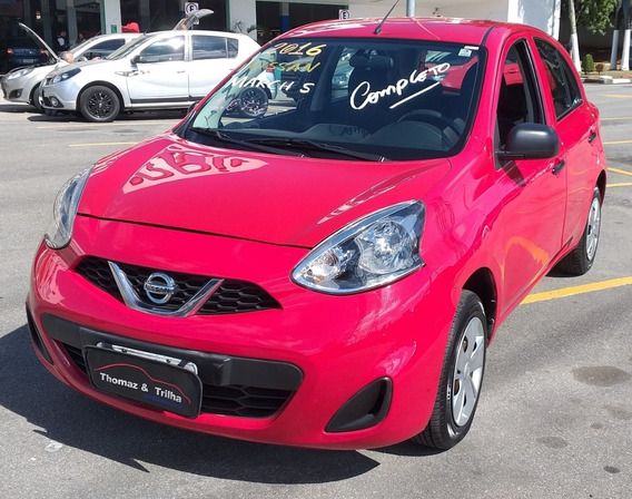 Nissan March S 1.0 Completo 2016
