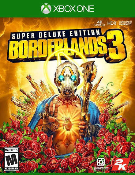 Borderlands 3 Super Deluxe Edition + 1 Brinde - Xbox One