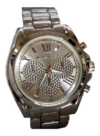 Kit Relógio E Pulseira Mk Presente Namorada Esposa Mãe 2020