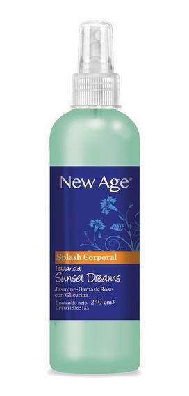 Splash New Age Sunset Dreams Caja 20 Unidades De 240 Cc C/u.
