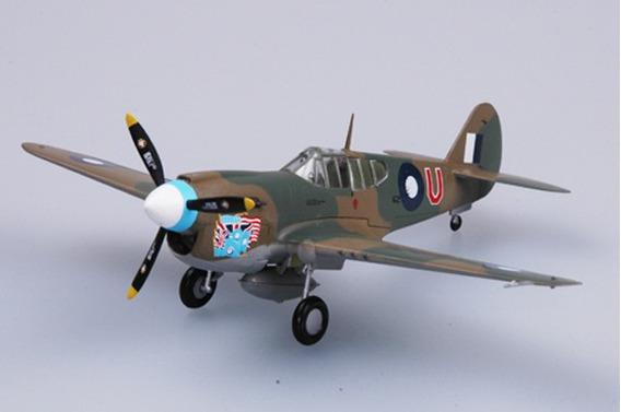 Avião P-40 E Tomahawk Raaf 1/72 Easy Model