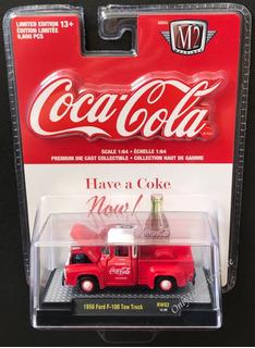 Miniatura Ford F-100 Guincho 1956 Coca Cola M2 Machines 1:64