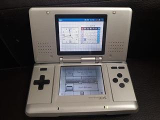 Nintendo Ds Fat Consola Plata ..........