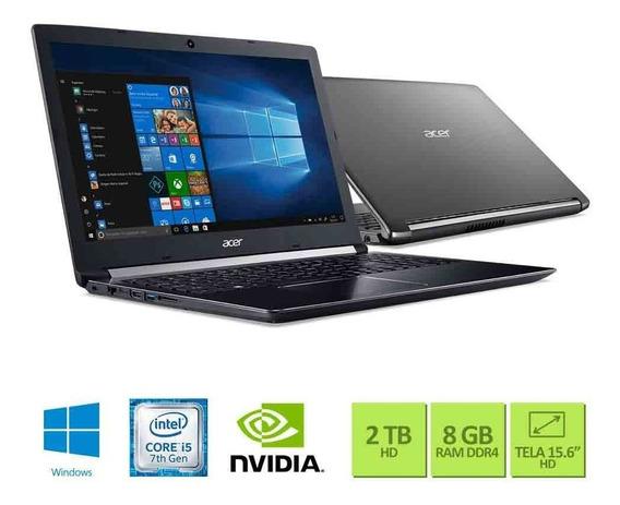 Notebook Acer A515-51g-50w8 - Preto - Intel Core I5-7200u