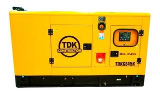 Generador De Cabina 60 Hp Tdk Tdkge45k Envío Gratis