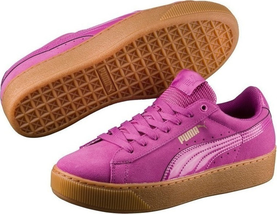 Tênis Puma Vikky Platform Low-top - Casual / Lifestyle