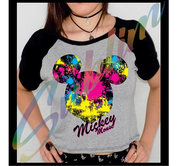 Camiseta Personalizada Mikey Mouse