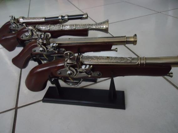 Kit 2 Isqueiro Maçarico Formato Arma Garrucha Pistola
