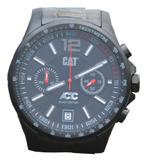 Reloj Cat Caterpillar Actc Black Edition Ad.163.1a.13a Casco