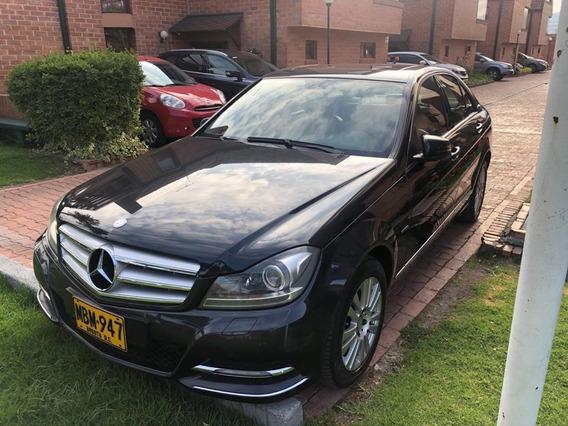 Mercedes C200 Elegance 1.8 184hp Negro Magnetita Hermoso