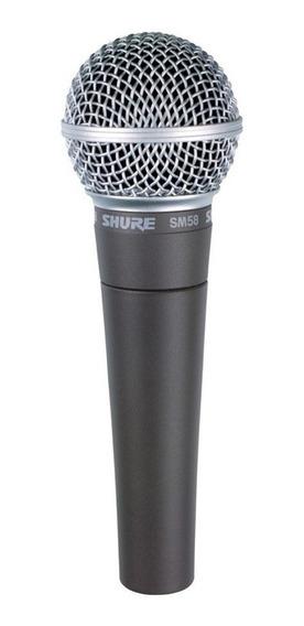 Microfone Shure Sm58 Lc Dinâmico Cardioide Promoção