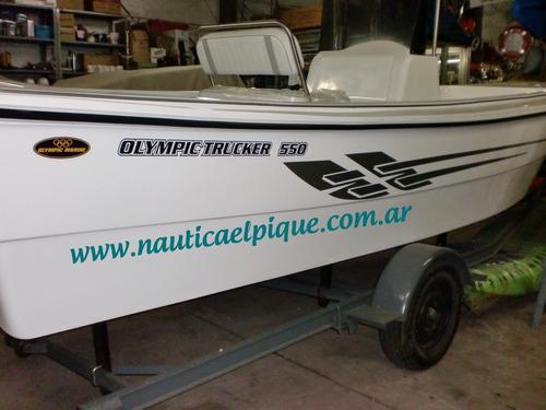 Trucker Olympic Marine 5.50  Quilmes