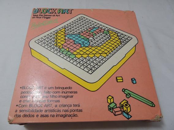 Jogo Block Art - Brinquedo Pedagógico - Blocos Para Desenho