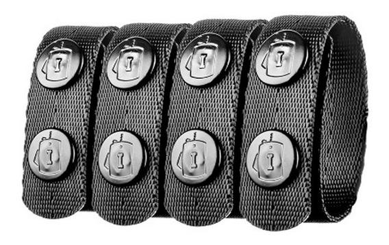 Belt Clip Invictus Preto 4 Unidades.
